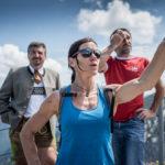 Ines Papert und die Botschafter Berchtesgadens